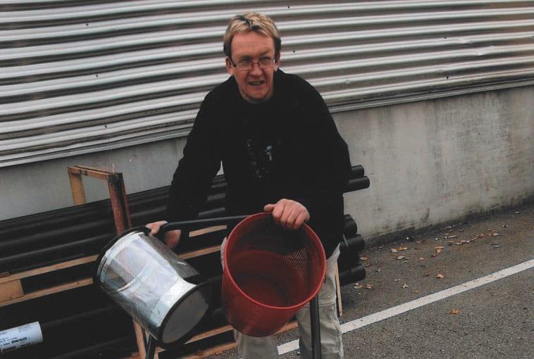 Julian Bitschnau, integrierter Arbeitsplatz