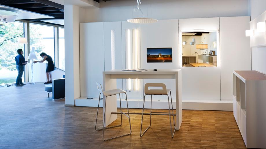 Conceptlicht Innenansicht Lichtstudio