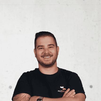 Eric Fussenegger, leitender Monteur