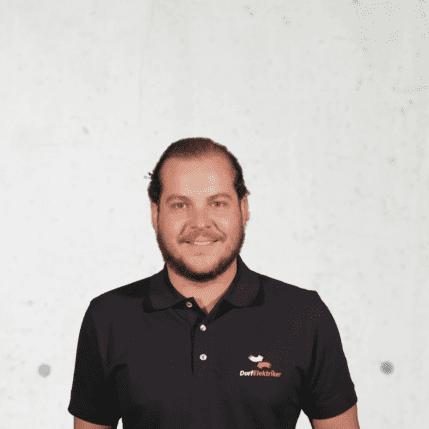 Florian Holluber, Gebäudeautomationstechniker