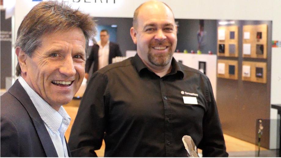 Herbert Mittelberger und Thomas Amann auf der combau 2020