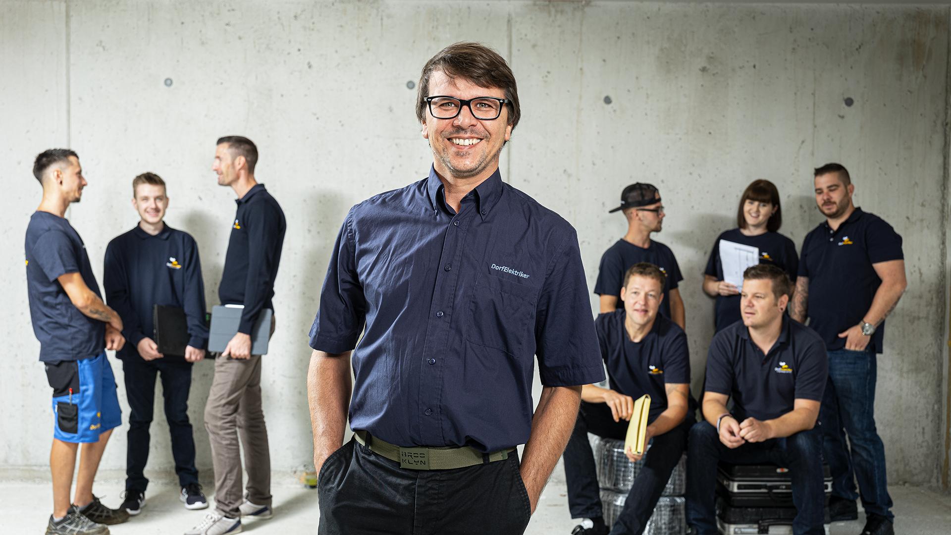 Teamleiter Wolfgang Hörtnag