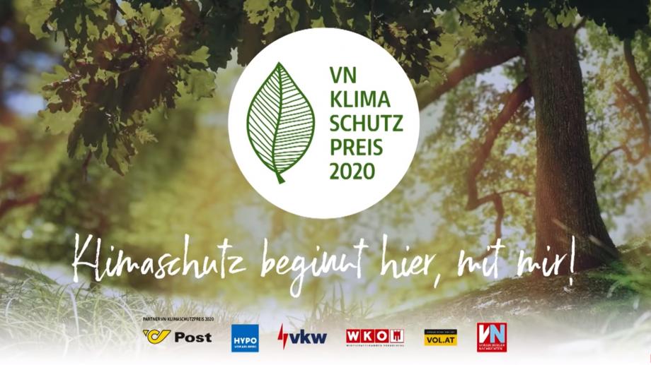 VN Klimaschutzpreis an Dorfelektriker Mittelberger GmbH
