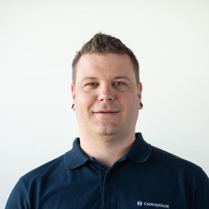 Andre Helfer, Teamleiter Conceptlicht