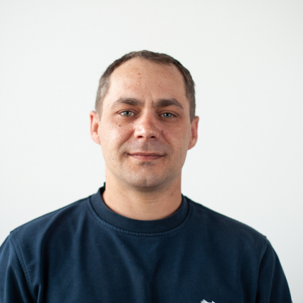 Marco Linder, leitender Monteur