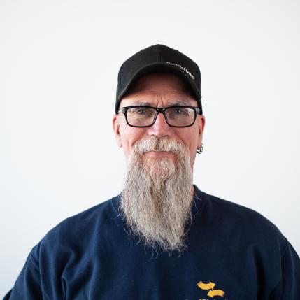 Robert Raby, leitender Monteur